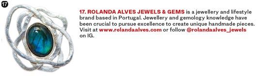 Rolanda Alves on Vanity Fair